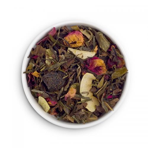 PRESTO чай БЕЛАЯ ВИШНЯ WHITE-CHERRY