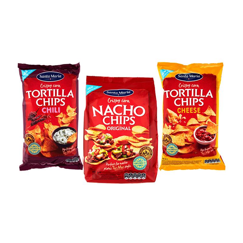Кукурузные чипсы Santa Maria