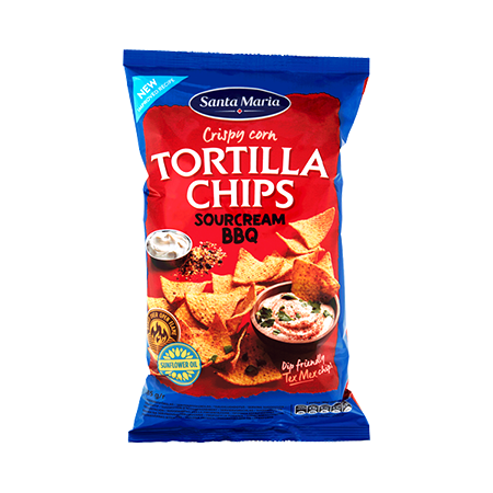 Tortilla Chips Sour Cream & BBQ
